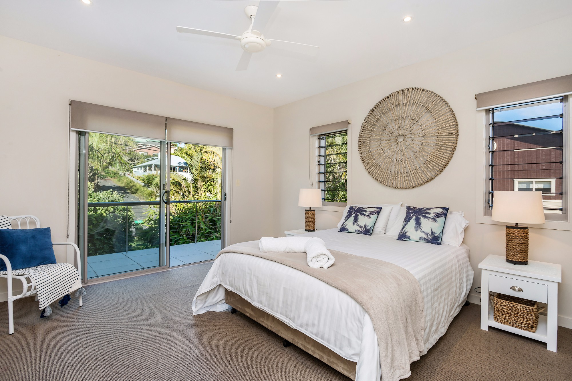 Byron Beach Style   Master Bedroom