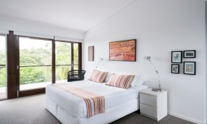 Ayana Byron Bay - bedroom 1 to balcony