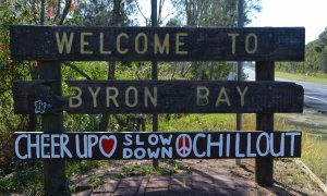 Welcome to Byron Bay! Cheer up, slow down, chill out.