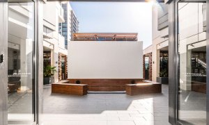 Adam and Eve - Brisbane - Common Area Outdoor Cinema
