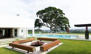 Amileka - Byron Bay Hinterland - Firepit and Pool b