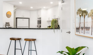 Apartment 2 Surfside - Byron Bay - Kitchen Looking from Living Area