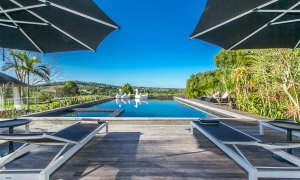 Aria - Byron Bay Hinterland - Poolside Area