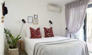 Arya - Byron Bay - Queen Bedroom 2 Downstairs