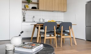 Axel Apartments - The Lawson - Glen Iris - Dining and Kitchen b