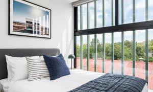 Axel Apartments - The Lawson - Glen Iris - Master Bedroom c