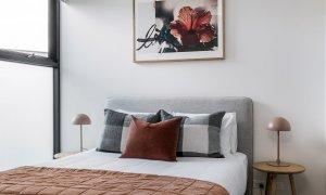 Axel Apartments - The Radnor - Glen Iris - Master Bedroom