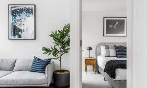 Axel Apartments 103 The Hadley - Glen Iris - Lounge and Bedroom c