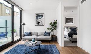 Axel Apartments 103 The Hadley - Glen Iris - Lounge and Bedroom