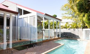 Bacchus - Byron Bay - Pool Toward House