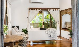 Bamboo Beach House - Byron Bay - Studio Living Area