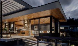 Bay Rock House - Byron Bay - Alfresco Entertaining Area