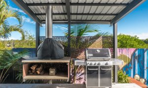 Beach Box - Byron Bay - Undercover BBQ Area