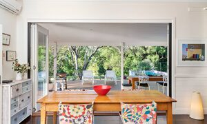 Bellbird - Byron Bay - Dining Room Looking Out to Rear Deck b