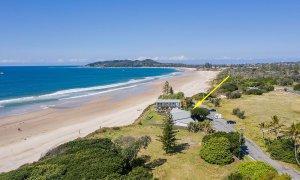 Belongil on The Beach - Byron Bay - Aerial Towards Lighthouse - Beachfront Location