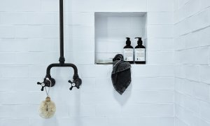 Bennys Cottage - Byron Bay - Real Living Shoot Bathroom Taps