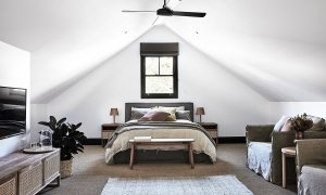 Bennys Cottage - Byron Bay - Real Living Shoot Bedroom Upstairs