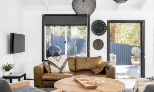 Black Star - Byron Bay - Living Area Looking Out to Alfresco Dining Area