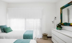 Byron Blisshouse - Byron Bay - Penthouse - Bedroom 1 Singles Room b
