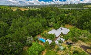 Byron Creek Homestead - Byron Bay - Aerial