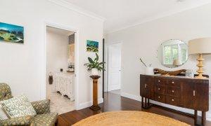 Byron Hills Hinterland Retreat - Byron Bay - Living Area Beside Shared Bathroom