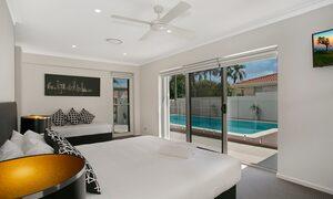 Capri Waters - Isle of Capri, Surfers Paradise - Bedroom 4 Master Bedroom
