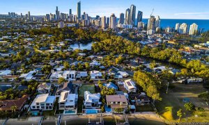 Casa Grande - Broadbeach Waters - Aerial Towards Surfers Paradise