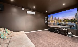 Casa Grande - Broadbeach Waters - Media Room