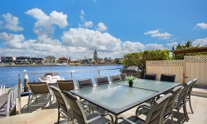Casa Grande on the Water - Surfers Paradise - Outdoor Entertainment Area