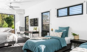 Catalinas - Byron Bay - Bedroom 1 with Ensuite d
