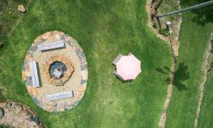 Charlottes Web - Byron Bay - Aerial Firepit