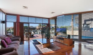 Chevron Oasis - Gold Coast - Living Room Views
