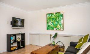 Chez Boulers - Lennox Head - Ballina - Lounge room and TV