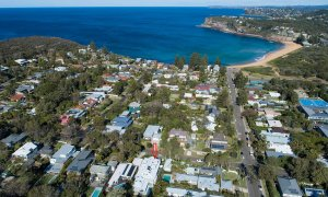 Coonanga Beach House - Avalon - Aerial Location Shot b
