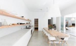 Coonanga Beach House - Avalon - Kitchen and Dining Towards House