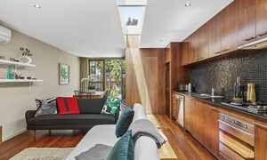Curran Terrace - North Melbourne - Living Area and Kitchen