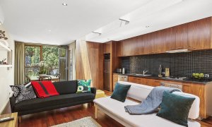 Curran Terrace - North Melbourne - Living and Kitchen and Dining