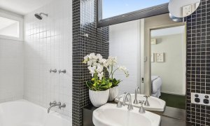 Curran Terrace - North Melbourne - Upstairs Central Bathroom