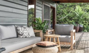 Eastern Rise - Byron Bay Hinterland - Outdoor Lounge Area 2