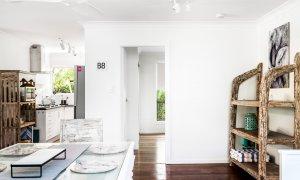 Gigis - Byron Bay - Dining Area Looking Towards Master Bedroom