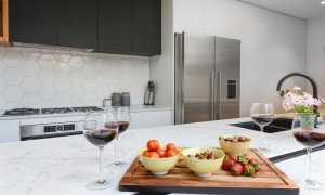 Gigis Place - South Melbourne - Kitchen Area