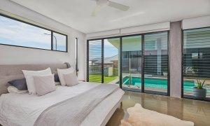 Greenview - Lennox Head - Master Bedroom to Pool