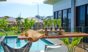 Greenview - Lennox Head - Pool Styled