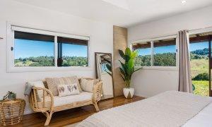 Hinterland Harmony - Master bedroom view