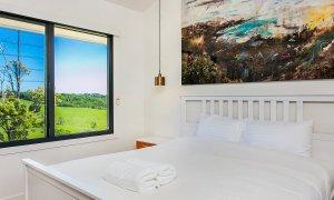 Coorabell Cottages - Rainforest Cottage - Bedroom