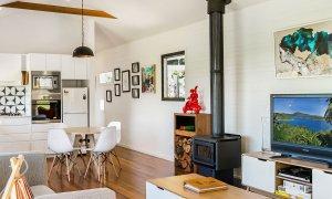 Coorabell Cottages - Rainforest Cottage - Living Area