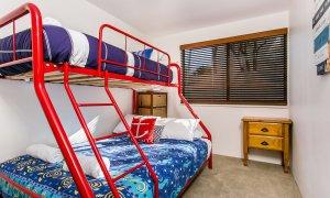 Apartment 1 Surfside - Main Beach - Byron Bay - Bunk Beds