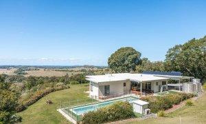 Jali Burugar - Byron Bay - Back of House View to Coast