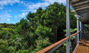 Jannah - Lennox Head - Deck with view