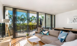 Kiah Beachside - Belongil Beach - Byron Bay - spacious lounge